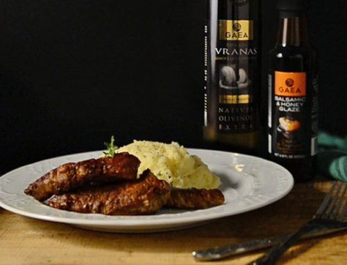 Beef Fillets with Gaea Oxymelo