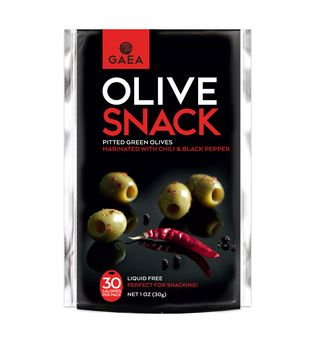 GAEA Pitted Green Olives with Chili and Black Pepper 1oz